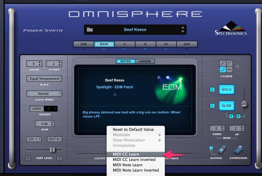 Omnisphere2の場合