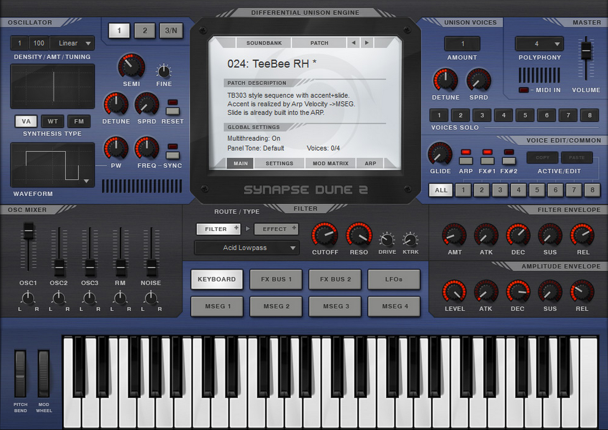 Synapse Audio Software DUNE 2